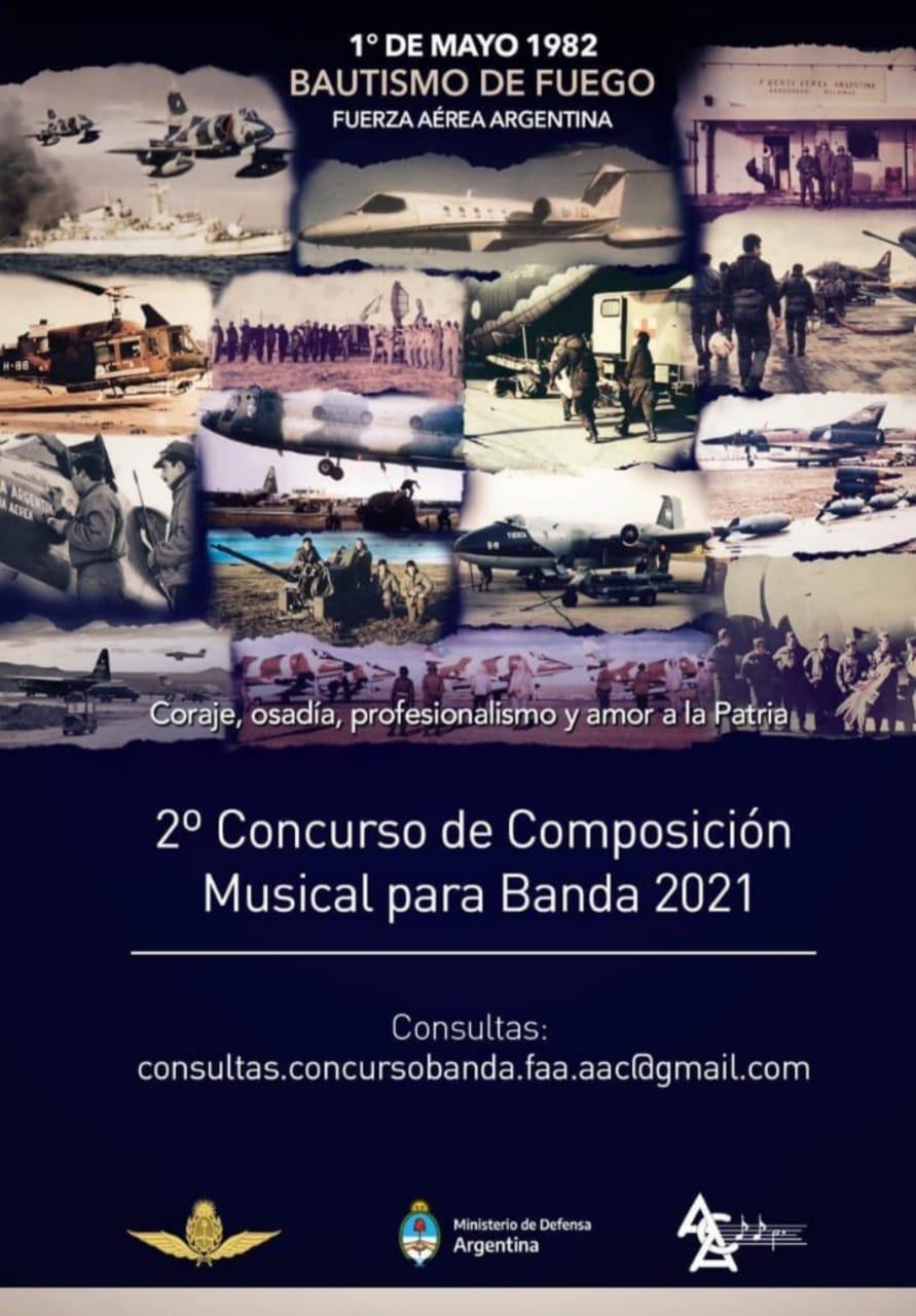 2do Concurso de Composición para Banda – 2021