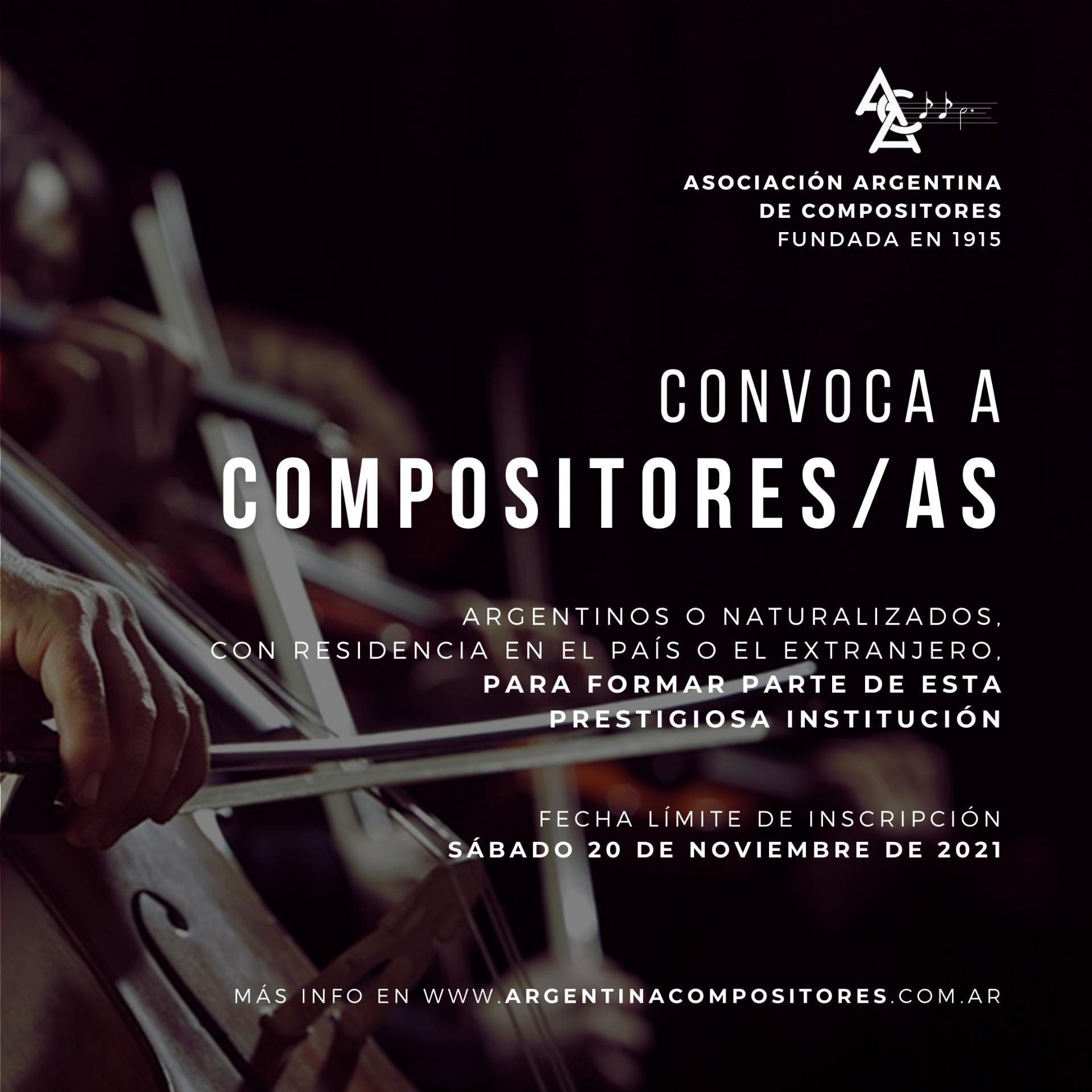 CONVOCAMOS A COMPOSITORES/AS